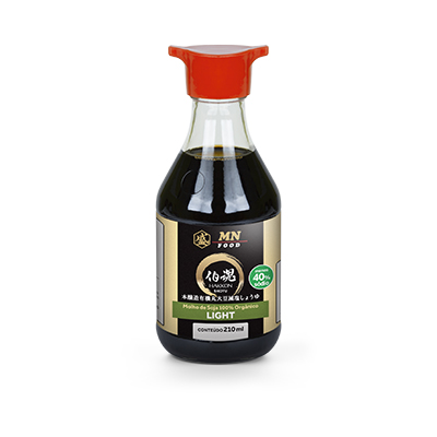 Shoyu Orgânico Light 210ml